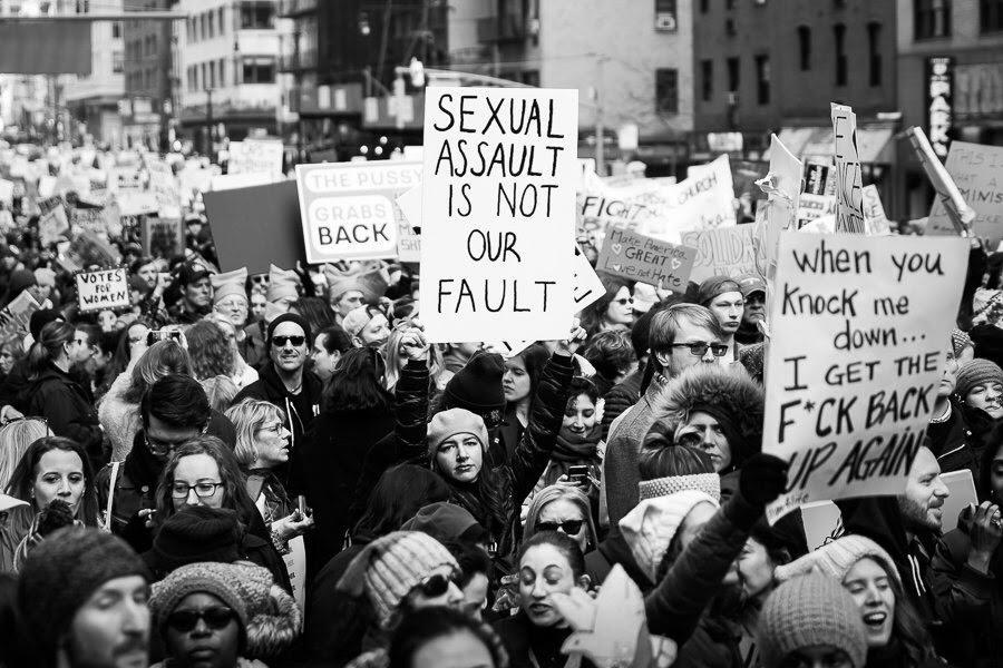 women's marches photos