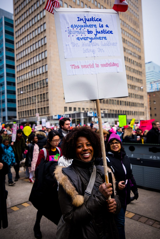 toronto womens march