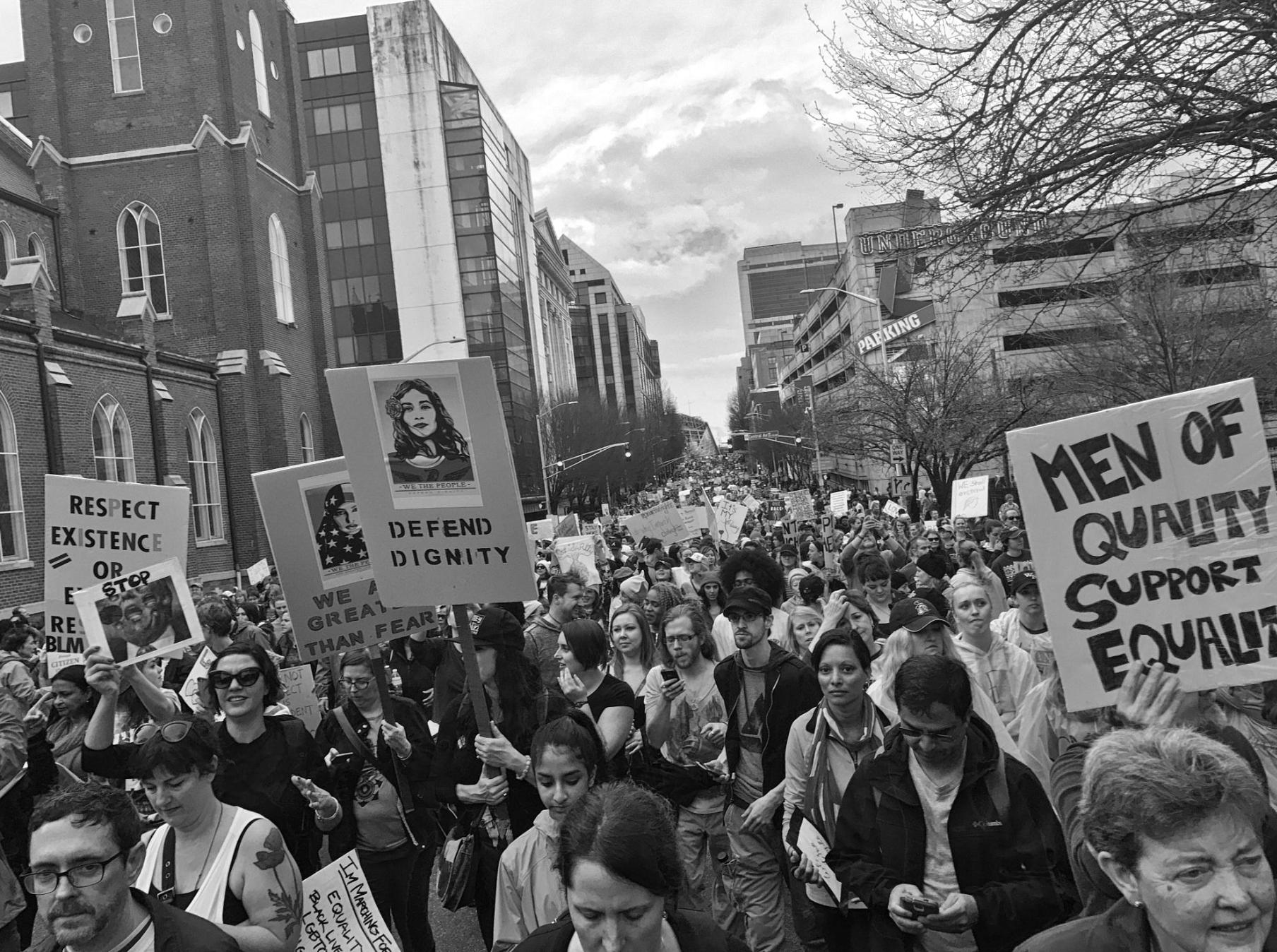 Women's march atlanta
