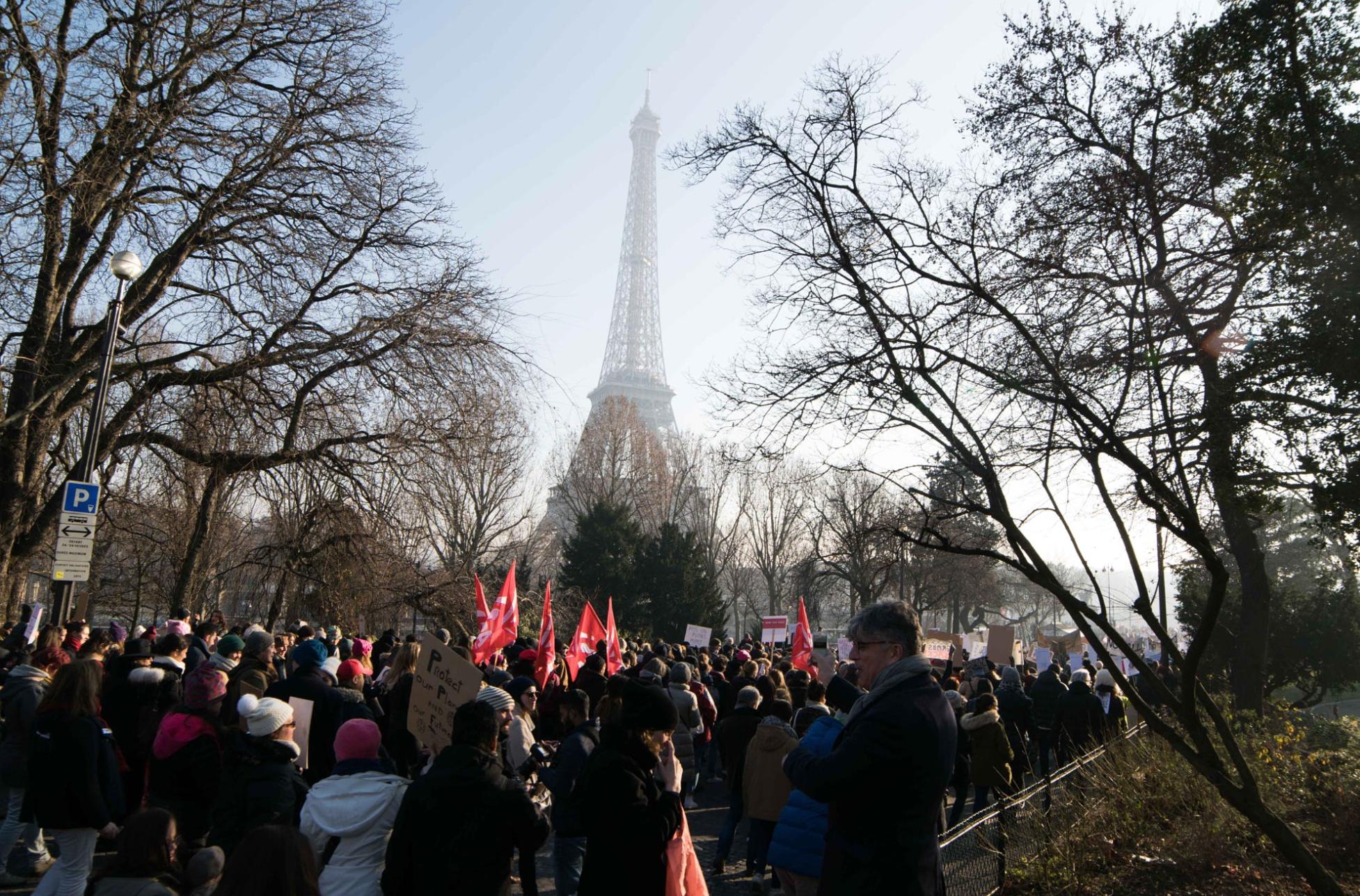 Womens March Paris