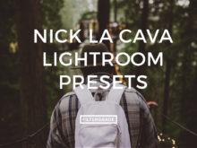 Featured Nick La Cava Lightroom Presets
