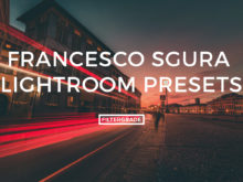 Featured Francesco Sgura Lightroom Presets
