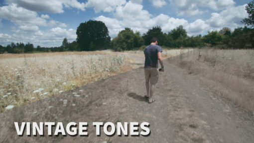 vintage tones video luts