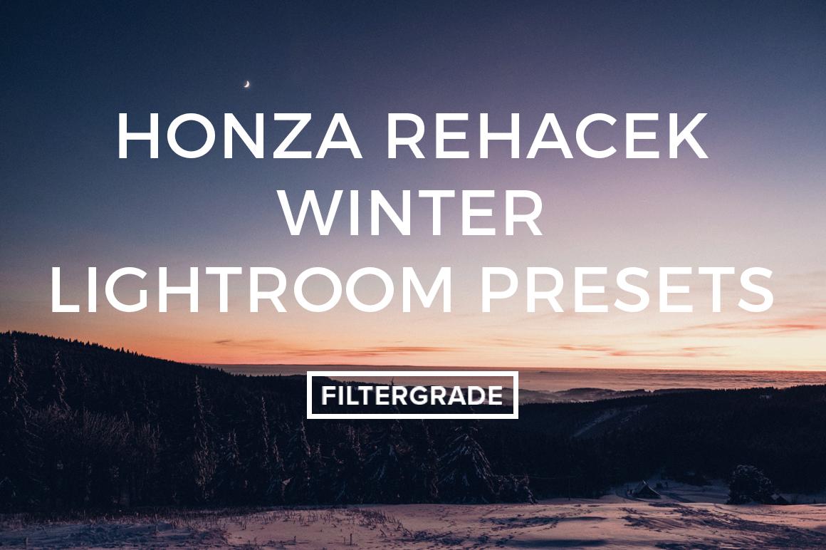 Honza Rehacek Winter Lightroom Presets