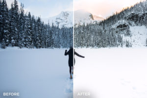 VancityWild 5 Winter Escape Lightroom Presets