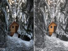 VancityWild 3 Winter Escape Lightroom Presets