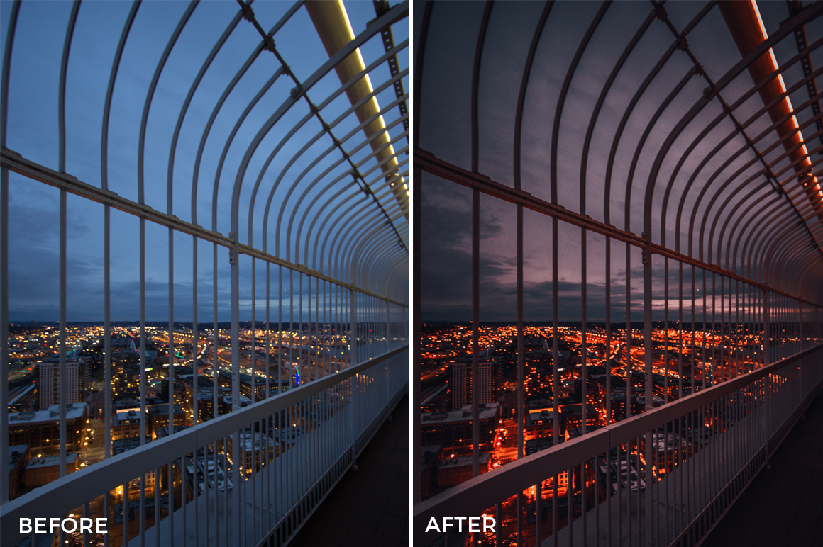9 Alexander Zhuk Urban & Portrai Lightroom Presets Preview - FilterGrade Marketplace