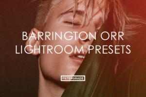 4 Barrington Orr Lightroom Presets - FilterGrade Marketplace