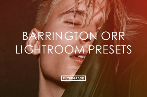 4 Barrington Orr Lightroom Presets - FilterGrade Marketplace