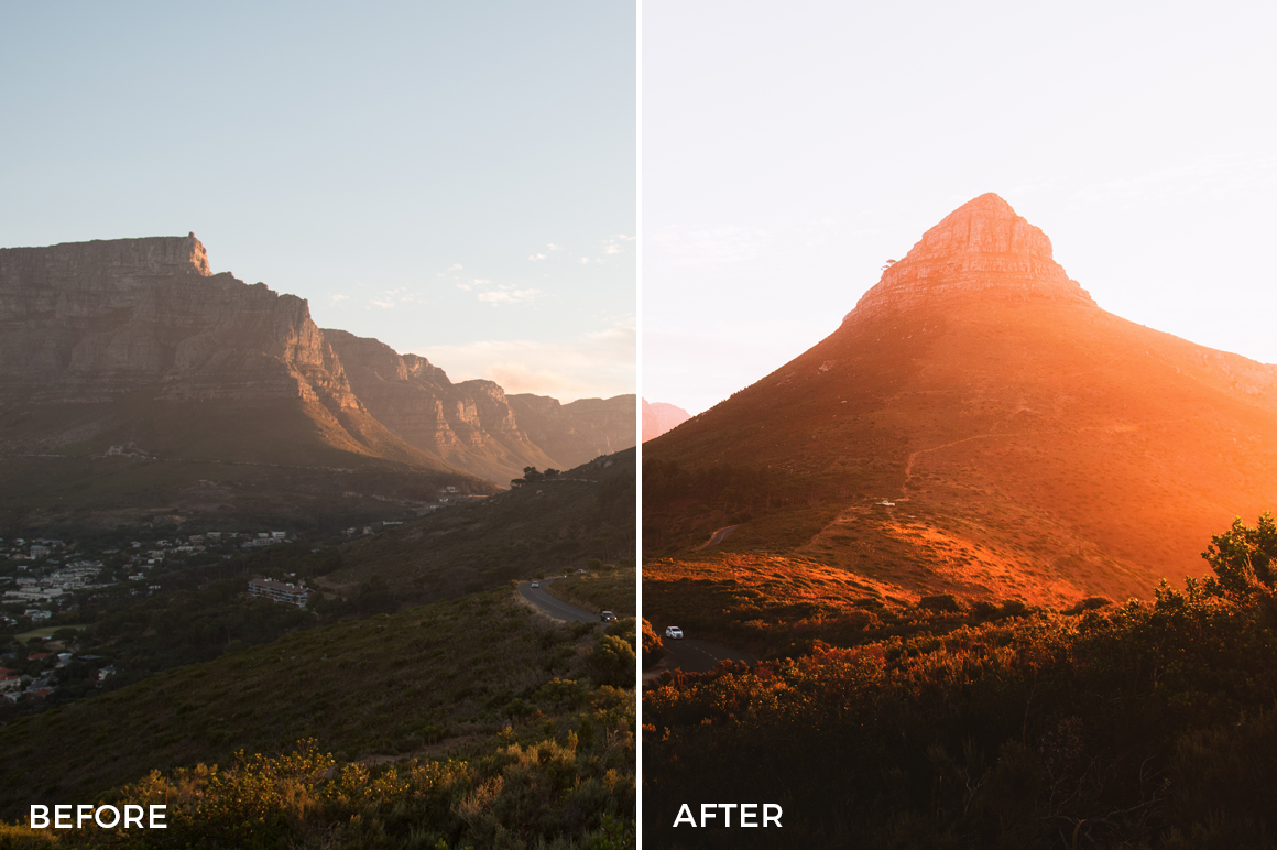 6 Dean Tucker Landscape Dreams Lightroom Presets