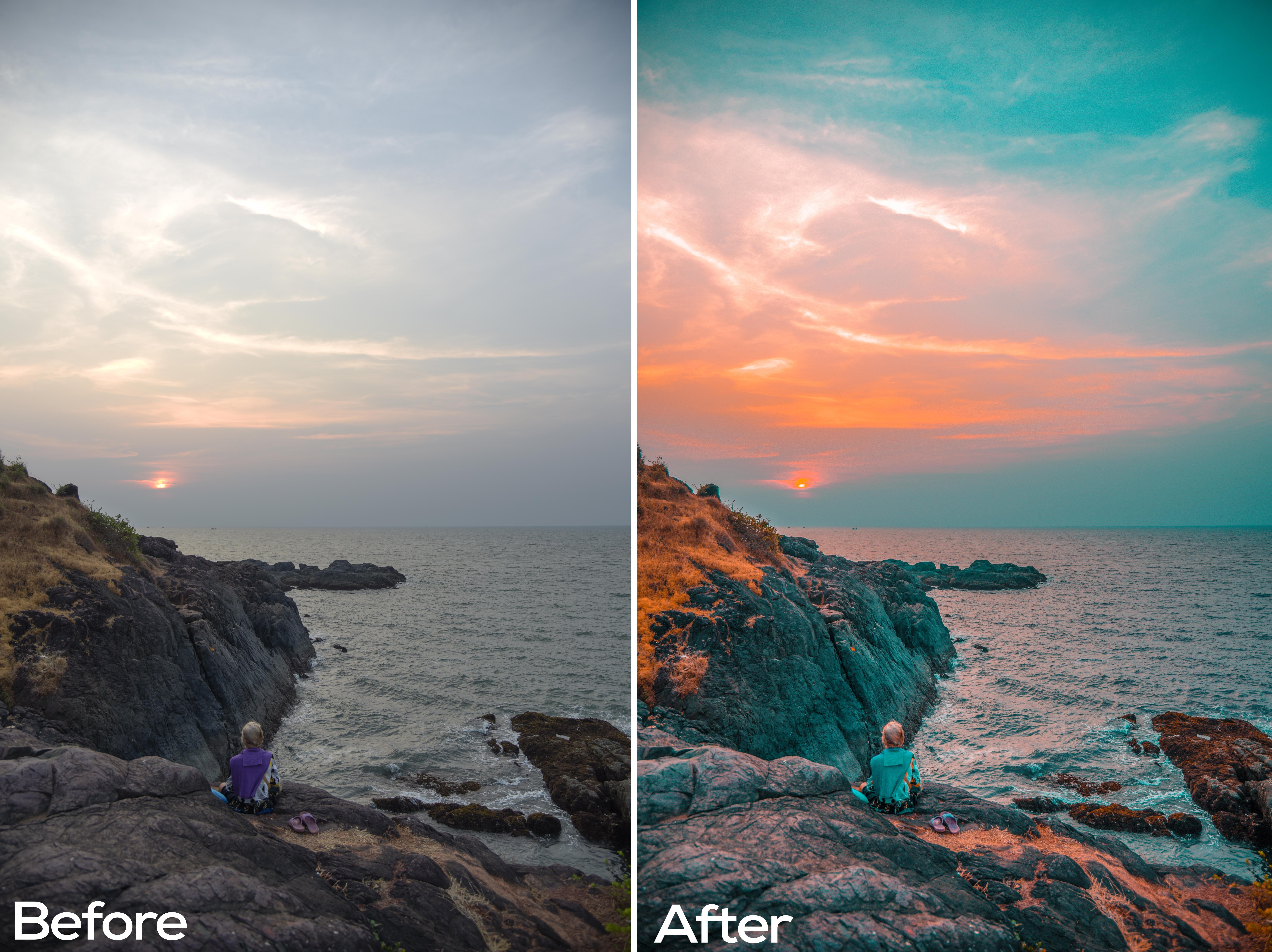 Riyaz MN Brown - Aqua Lightroom Presets - FilterGrade Marketplace