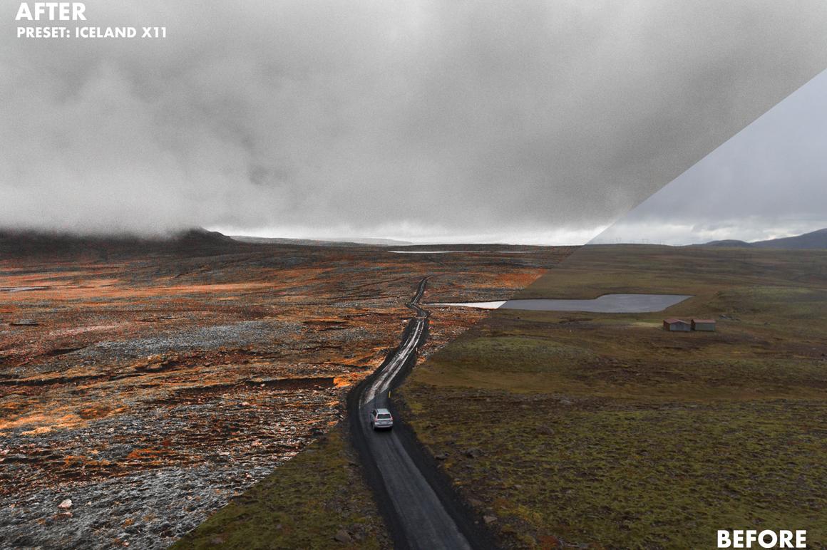 9 Basti Hansen Iceland X Lightroom Presets - FilterGrade Marketplace