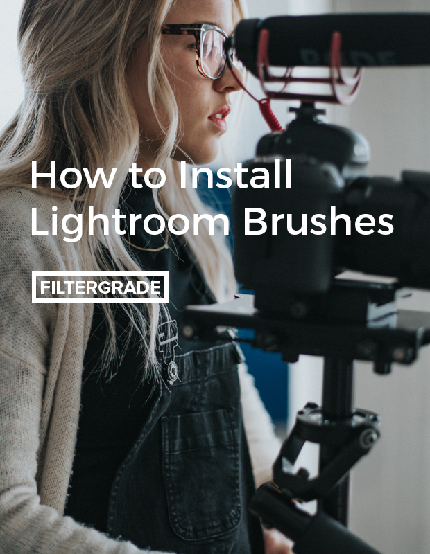 A step by step walkthrough on how to install Lightroom Brushes.