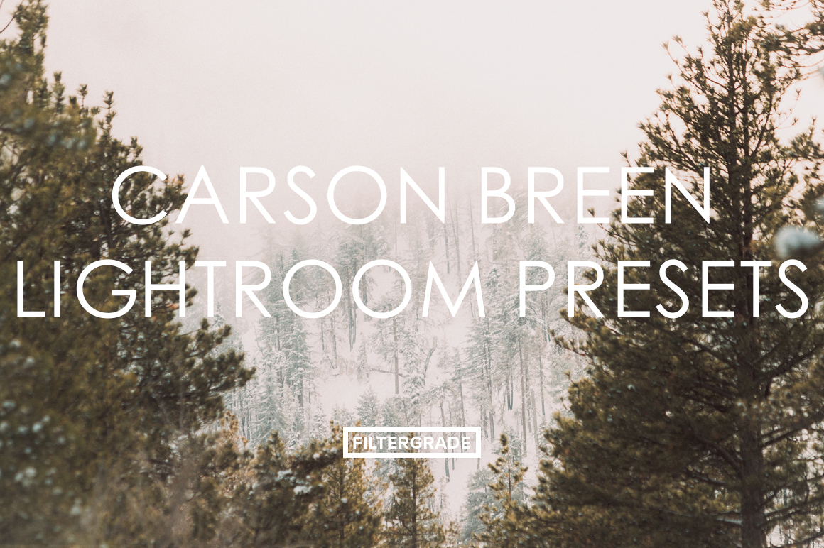Featured Carson Breed Lightroom Presets Preview - FilterGrade Marketplace