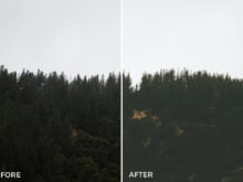 4 Carson Breed Lightroom Presets Preview - FilterGrade Marketplace