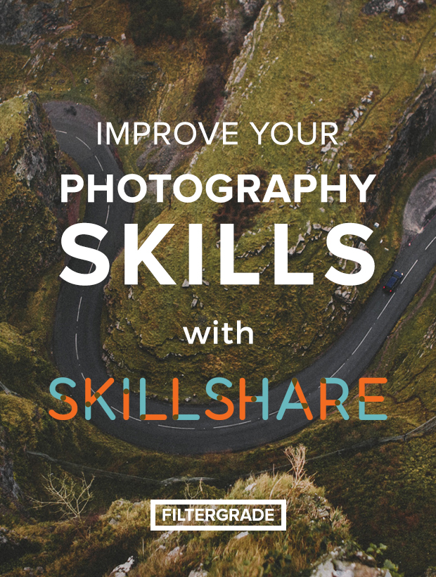 We partnered with Skillshare to help you improve your photography skills!