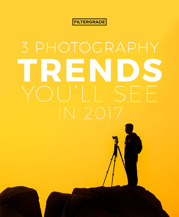 Major photography trends you'll see in 2017.