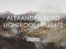 Featured Alexandra Ford Lightroom Presets - FilterGrade Marketplace