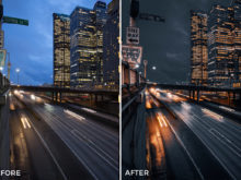 2 Alexander Zhuk Night Urban II Lightroom Presets