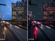 3 Alexander Zhuk Red Style Lightroom Presets - FilterGrade Marketplace