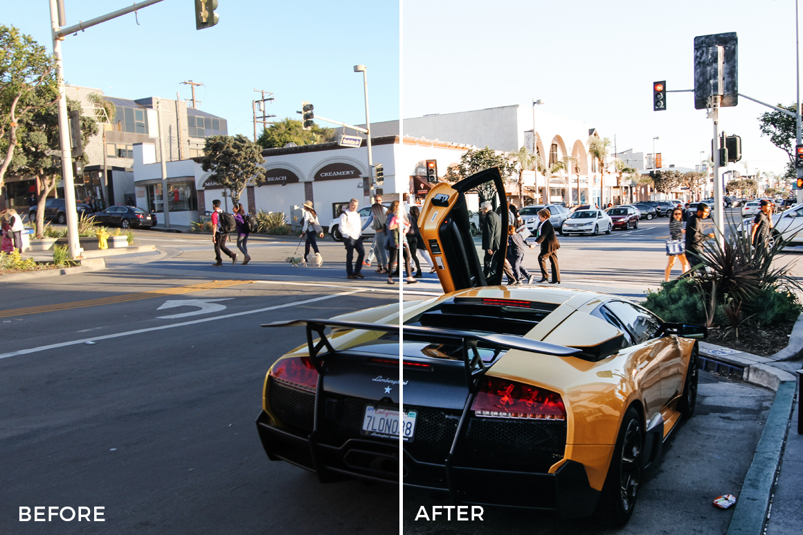 8 Alexander Zhuk Summer LA Lightroom Presets - FilterGrade Marketplace
