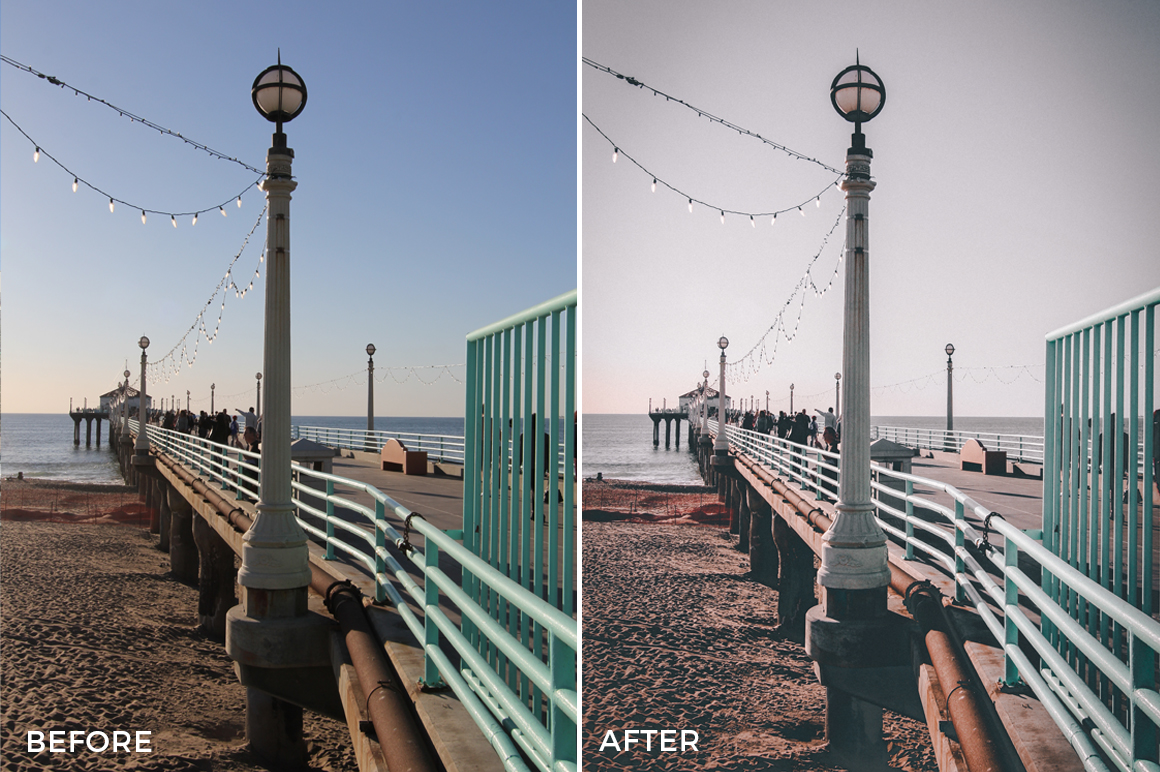 4 Alexander Zhuk Summer LA Lightroom Presets - FilterGrade Marketplace