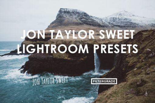 Featured Jon Taylor Sweet Lightroom Presets - FilterGrade Marketplace