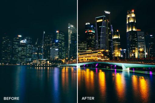light fix luminar presets