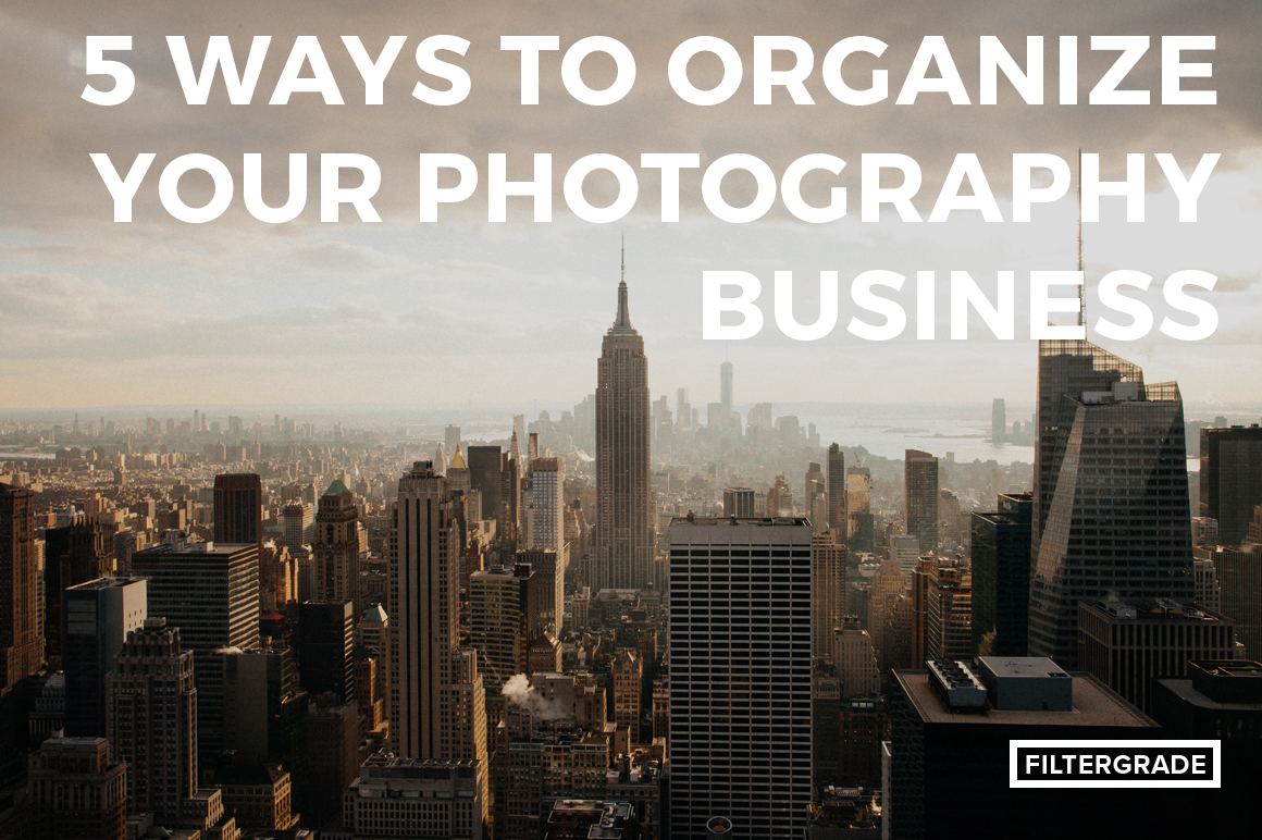 Some helpful ways to improve your photography business.