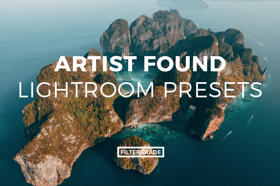 (LR Presets Feature) Artist Found Lightroom Presets & Video LUTs - FilterGrade Marketplace
