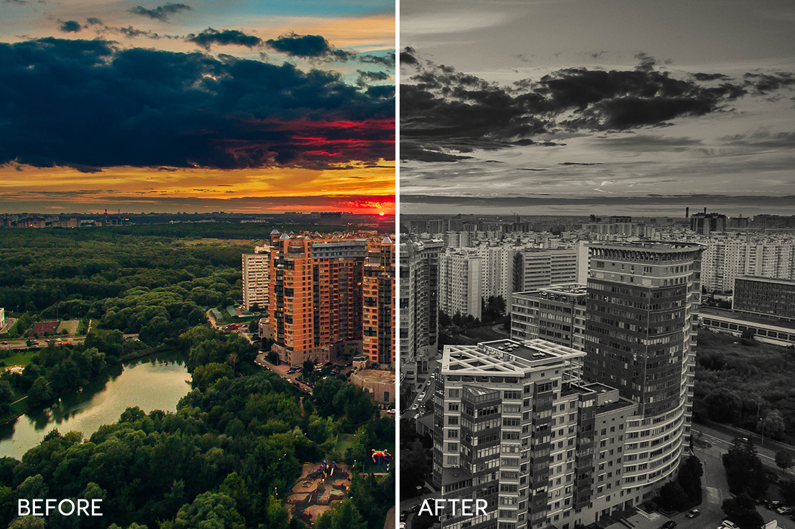 duotone effect for lightroom