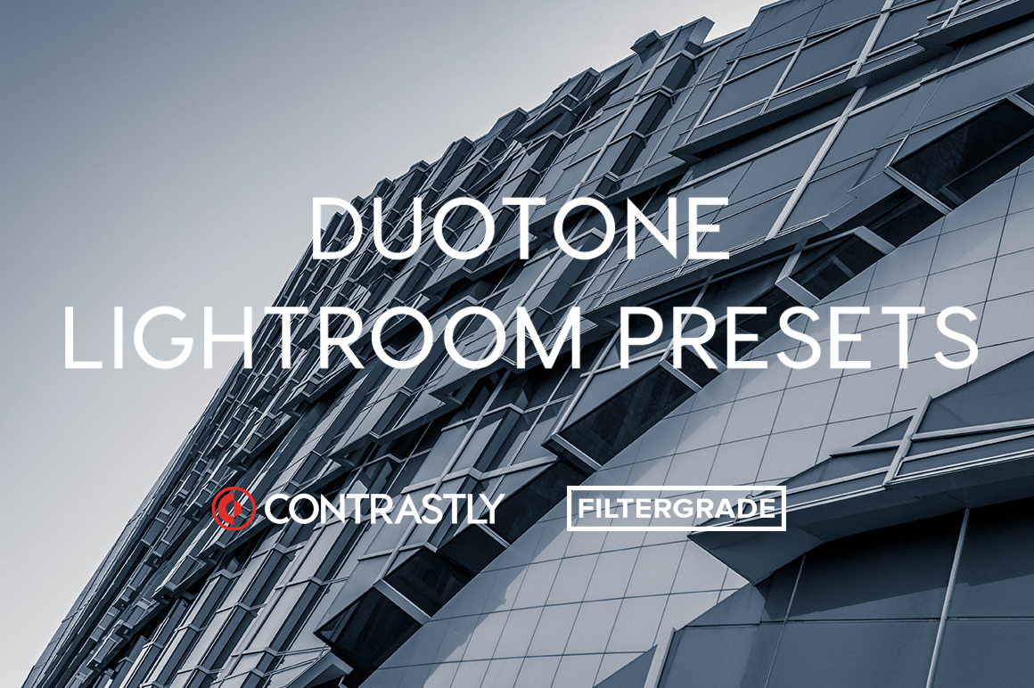 Contrastly Duotone Lightroom Presets on FilterGrade.