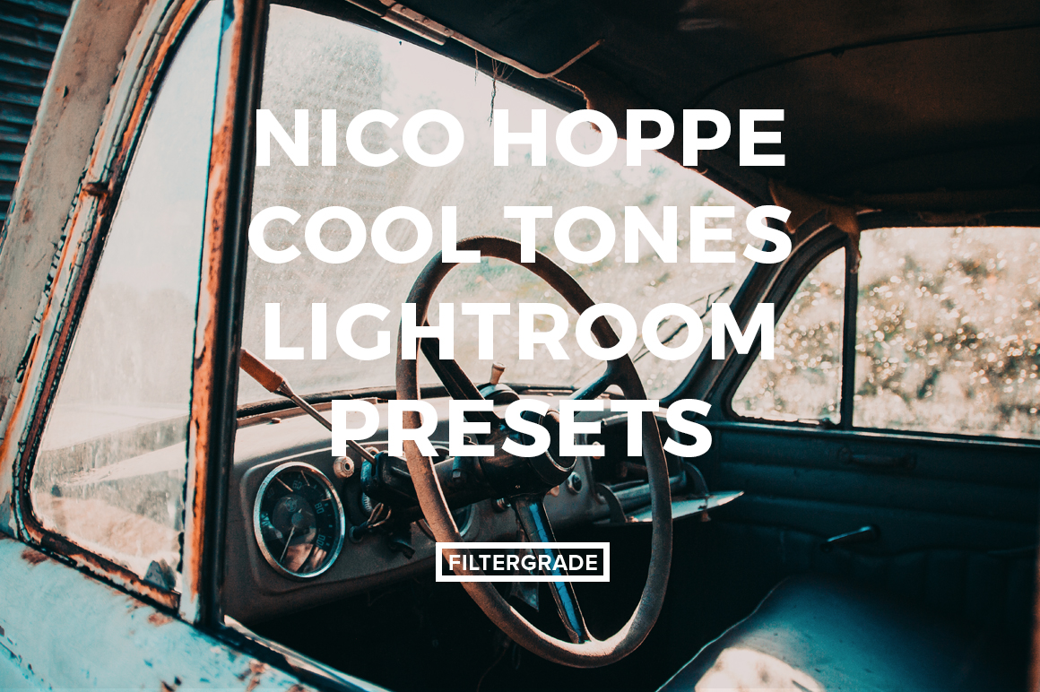Featured Nico Hoppe Cool Tones Lightroom Presets