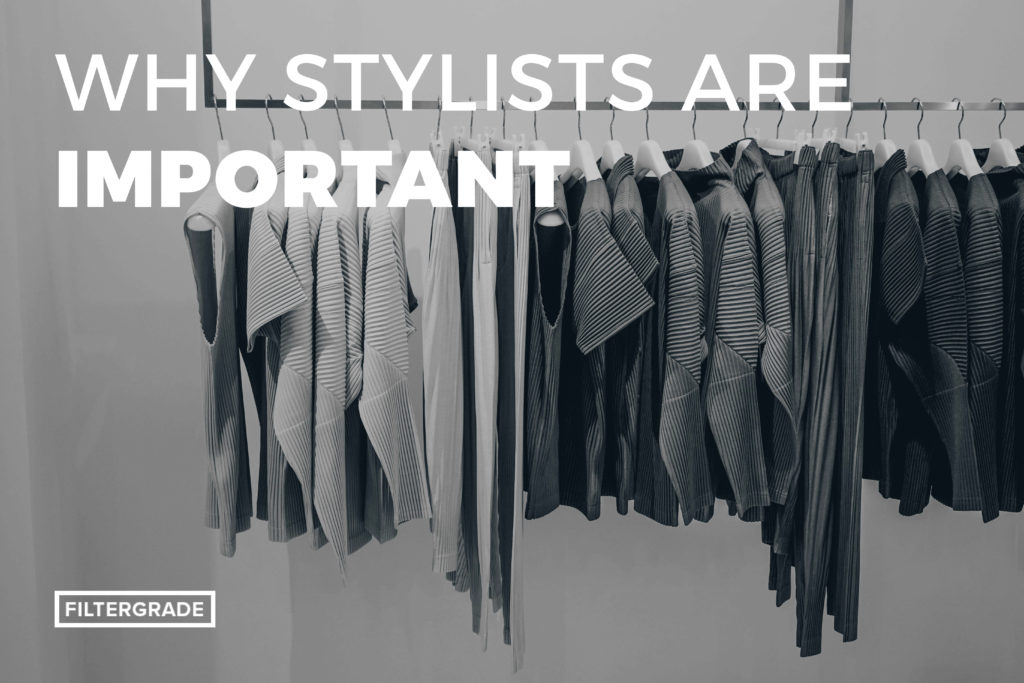 Learn the importance of stylists and how they work to make a shoot come together.