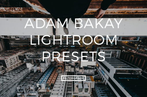 Featured Adam Bakay Lightroom Presets - FilterGrade Marketplace