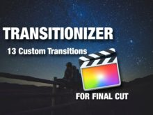 Custom transitions and movements for Final Cut Pro by Rocket Rooster