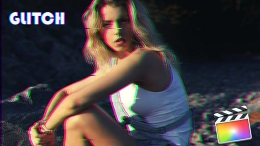 Glitch Effects for Final Cut Pro by Rocket Rooster