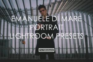 Featured Emanuele Di Mare Portrait Lightroom Presets - FilterGrade Marketplace