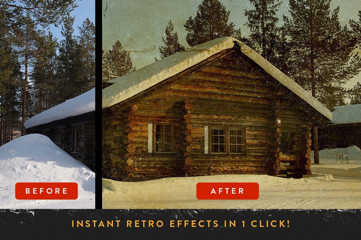 retrolab vintage film photography effects
