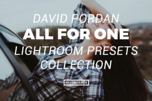 7 David Pordan One for All Lightroom Presets - FilterGrade Marketplace