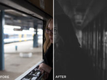 3 David Pordan Moody Chrome Lightroom Presets - FilterGrade Marketplace