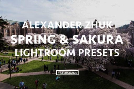 Featured Alexander Zhuk Spring & Sakura Lightroom Presets - FilterGrade Marketplace