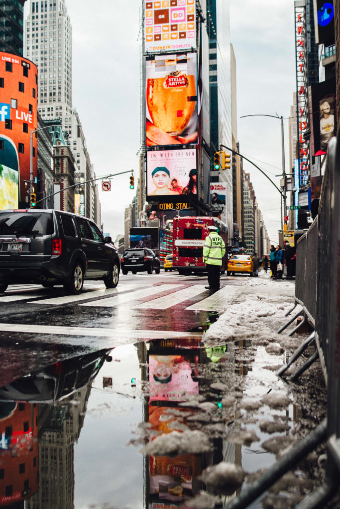 Times Square, New York City - FilterGrade Blog
