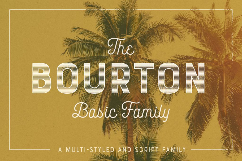 script font family for graphic design