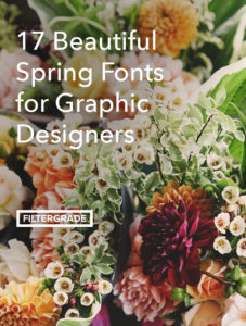 Bring your designs to life with beautiful spring fonts. In this article we take a look at 17 of our favorite springtime typefaces for graphic designers.