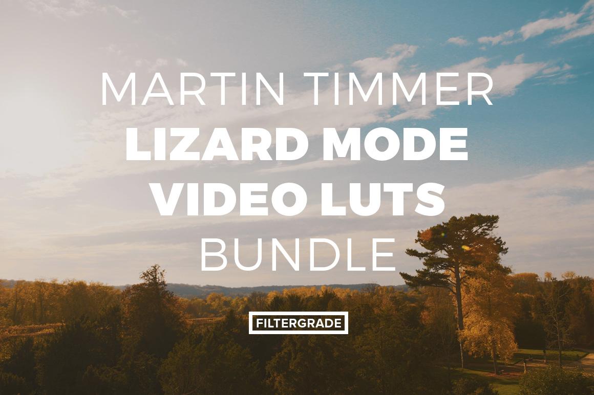 Martin Timmer Lizard Mode Video LUTs Bundle