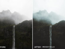 5.5 Moody Falls - Kirk Richards Lightroom Presets - @kirkjrichards - FilterGrade Digital Marketplace