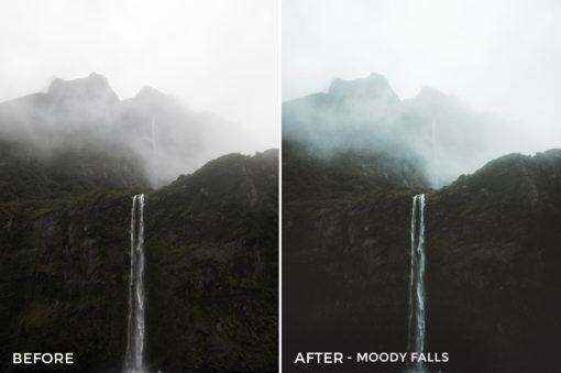 5.5 Moody Falls - Kirk Richards Lightroom Presets - @kirkjrichards - FilterGrade Digital Marketplace