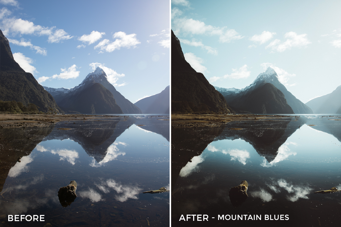 9 Mountain Blues - Kirk Richards Lightroom Presets - @kirkjrichards - FilterGrade Digital Marketplace