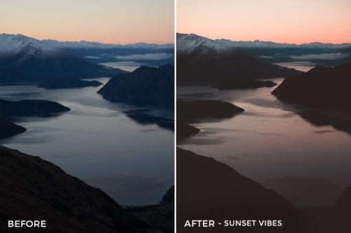 8.25 Sunset Vibes - Kirk Richards Lightroom Presets - @kirkjrichards - FilterGrade Digital Marketplace